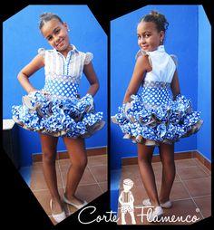 faldas flamencas de niña - Buscar con Google