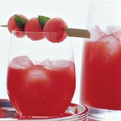 """Watermelon Sangria 