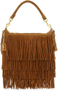 yves laurent bags - Saint Laurent Sac de Jour Nano Suede Fringe Satchel Bag, Tan | YSL ...