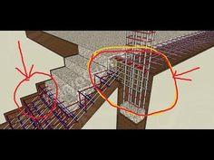 PENULANGAN TANGGA PADA KONSTRUKSI BANGUNAN - YouTube Civil Engineering Construction, Brick Construction, Dubai Architecture, Bamboo Architecture, Railing Design, Staircase Design, Concrete Structure, Column Structure, Retaining Wall Design