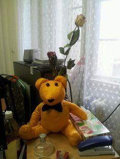 DIY  gold bear
