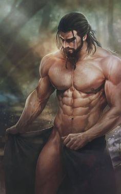Carlnes shower~~ by aenaluck. This is how I imagine Lorcan to look.