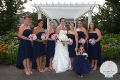 Don't forget a fabulous flower girl to complete your bridal party look! Cape Cod Popponesset Inn Wedding 7-27 - You Ought to be in Pictures!