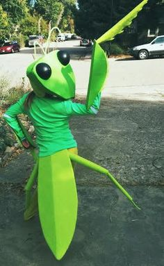 Make the Most Adorable Praying Mantis Costume Ever