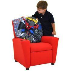 Spiderman Kids Recliner Chair by Kidz World