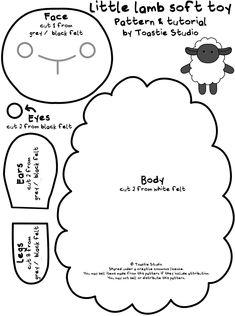 Felt pattern ( sheep )