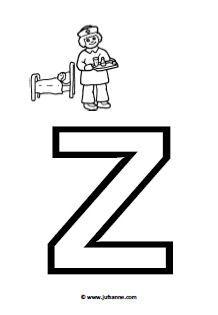 15 beste afbeeldingen van Alfabet Letters om te printen