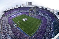 """One stadium, the Bernabéu... One feeling, madridista... One support, you... One chant... #HALAMADRID!"""