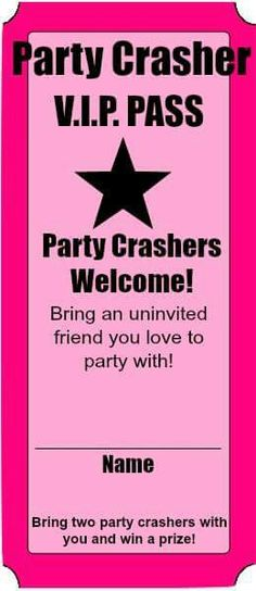 ❤ party crashers!!