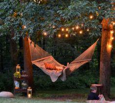10 ways fairy lights can turn your yard into an enchanted space #backyard #fairylights #decoration Backyard Lighting, Outdoor Lighting, Outdoor Decor, Lights In Backyard, Garden Lighting Ideas, Outdoor Spaces, Outside Lighting Ideas, Outdoor Ideas, Outdoor Lantern