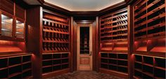 A fantastic closet inside The Stone Mansion, Alpine, NJ.