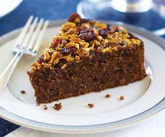 Flourless Chocolate Cake with Almond  Berry Glaze