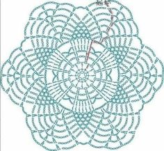 Free Crochet Doily Patterns, Crochet Snowflake Pattern, Crochet Flower Tutorial, Crochet Motifs, Crochet Snowflakes, Crochet Diagram, Crochet Chart, Crochet Squares, Crochet Designs