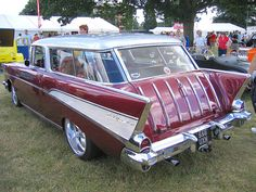 '57 Chevy Nomad. Coolest mom car ever!