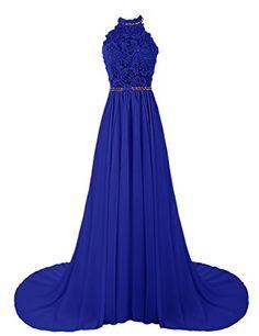 Dresstells® Women's Halter Long Prom Dresses Bridesmaid Wedding Dress Royal blue Size 2 Dresstells http://www.amazon.com/dp/B00UJGQHUM/ref=cm_sw_r_pi_dp_S.Gqvb1F88YA4