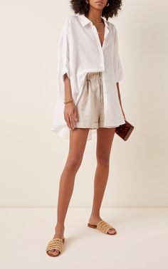 Mode Outfits, Short Outfits, Fashion Outfits, Looks Chic, Looks Style, Skandinavian Fashion, Summer Shorts Outfits, Casual Shorts Outfit, Shorts Outfits Women