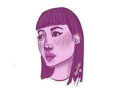 sólo pepistika: LILI LILA Female, Art, Lilac, Illustrations, Art Background, Kunst, Art Education