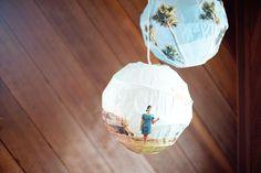 DIY photo-paper-lamp #DIY #crafts