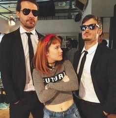 Angela Torres, Mariano Martinez, Fashion Tv, Mens Sunglasses, Romantic, Funny, Mariana, Pomeranian Dogs, Men's Sunglasses