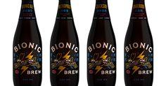 Bionic Brew China Brand Identity & Packaging   Helms Workshop
