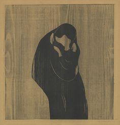 Edvard Munch, The Kiss IV, 1902.