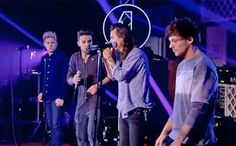 Harry and the boys performing Infinity   #1DR1LiveLounge