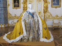 The Coronation of the Empress Elizabeth Petrovna took place at Moscow on 6th May [25th April O.S.], 1742.
