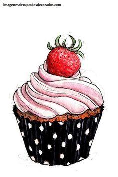 Resultado de imagen para tarjetas de presentacion de cupcakes