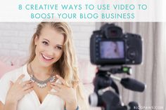 Video can help you grow your blog business, or any business for that matter. Video seems to be all the rage these days, and with good reason: It's here to stay.