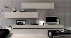 Image result for mobila de living moderna Living Room Wall Units, Living Room Tv Unit Designs, Living Room Decor, Grey Wood Tile, Tv Wall Design, Home Room Design, Living Furniture, Furniture Arrangement, House Rooms