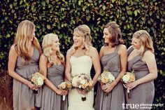 ccf295daf49c Bridesmaids Dresses by Color | Style and Trend Dress Photos Bridesmaid  Dress Colors, Grey Bridesmaids