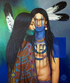 Nativeamericanwarriors red road warrior detail painting by victor crisostomo gomez features the cultures of his native country in his portraits these compelling images blend tradition with a contemporary edge fandeluxe Gallery