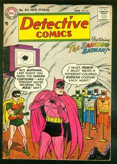 Rainbow Batman!