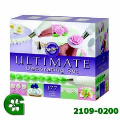 Wilton Ultimate Professional Cake Decorating Set, Purple- Discontinued By Manufacturer Wilton Baking, Baking Set, Baking Tips, Wilton Cake Decorating, Cake Decorating Tools, Cake Decorating Techniques, Decorating Ideas, Wilton Cakes, Cupcake Cakes