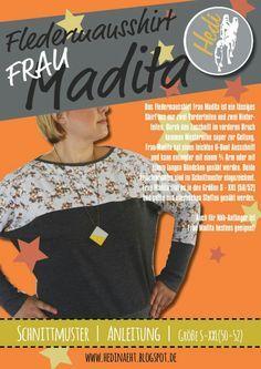SM-Fledermausshirt madita