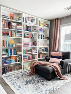Bookshelves, Bookcase, Personal Library, Home Decor, Bookcases, Decoration Home, Room Decor, Book Shelves, Book Shelves