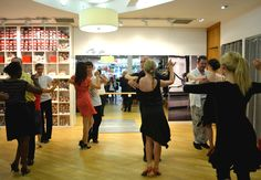 Latin Workshop with XS Latin at Capezio London. August 2012