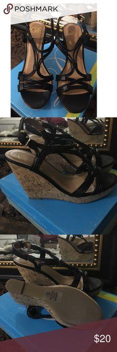 Black wedge's brand new black wedges Shoes Wedges