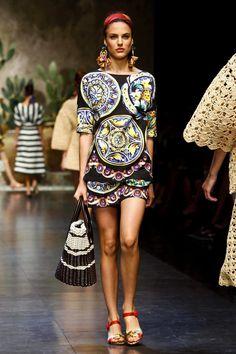 06fbc240148 Dolce   Gabbana Ready To Wear Spring Summer 2013 Milan