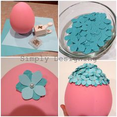 Simply Designing with Ashley: Simply Link {Party} & Flowered Egg & GIVEAWAY