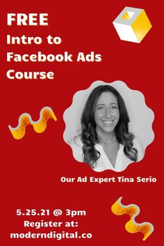 Intro to Facebook Ads! May 25th   3-5p PST In this #FacebookWorkshop, you'll get practical #SocialMedia lessons and #FacebookTips to make the most of #FacebookAdvertising. You don't want to miss this #Facebook workshop! Register today. Marketing Quotes, Marketing Plan, Real Estate Marketing, Social Organization, Social Media Quotes, Free Facebook, Landing Page Design, Online Advertising, Digital Marketing