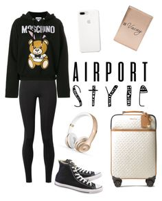 Untitled #58 by anadumy on Polyvore featuring polyvore, fashion, style, Moschino, The Row, Converse, MICHAEL Michael Kors, Miss Selfridge, clothing and airportstyle