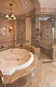 Small Bathroom Ideas With Jacuzzi Tub Ideas Pinterest - Bathroom with jacuzzi and shower designs