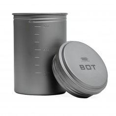 Titanium BOT w/Lid