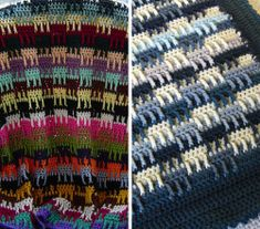 [Free Pattern] This Afghan Crochet Pattern Is The Perfect Stash Buster