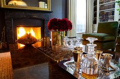 Ready to party - Aerin Lauder's Wainscott Country Home loveisspeed.