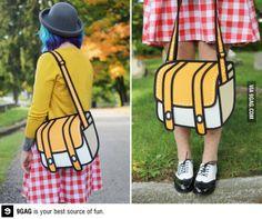 The 2D purse