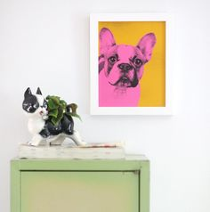 This DIY Pop Art Pet Portrait is going to help you gain some serious art cred. You get to Warhol-ize your pup sans the big $$. What more could you pawssibly want?