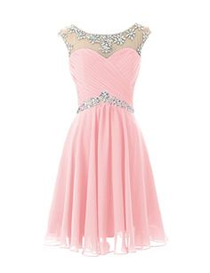 Dresstells Short Prom Dresses Sexy Homecoming Dress for Juniors Birthday Dress Pink Size 10 #FreedomOfArt Join us, SUBMIT your Arts and start your Arts Store https://playthemove.com/SignUp