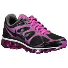 81ee66470399 Nike Air Max + 2012 - Women s - Running - Shoes - Black Magenta